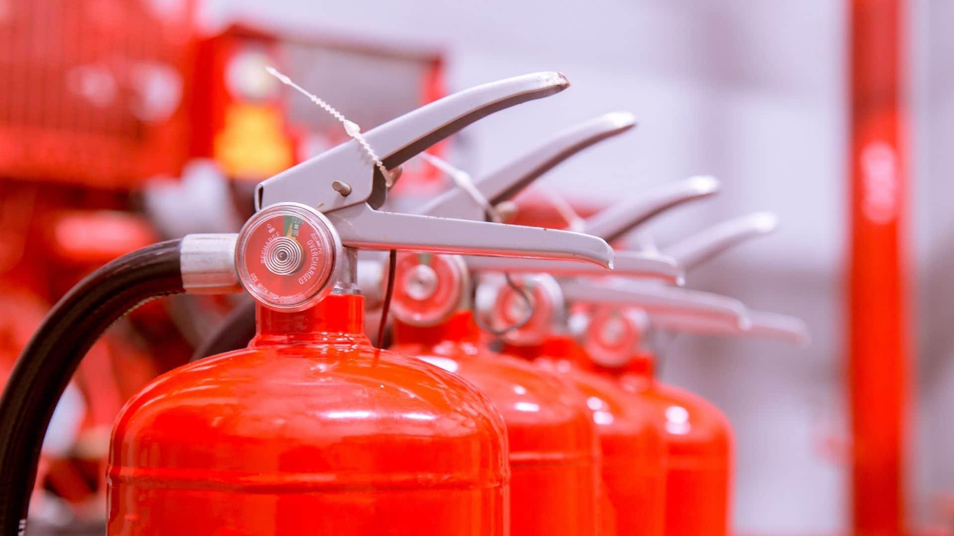 control de extintores