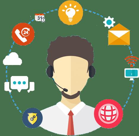 servicio técnico 24/7 para nuestros clientes