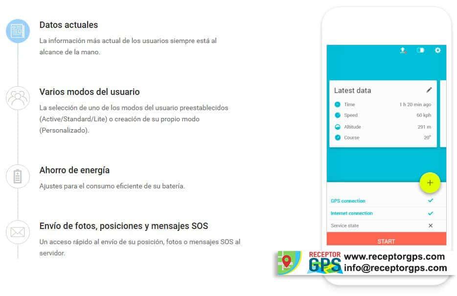 imagen de aplicación para la localización de personas